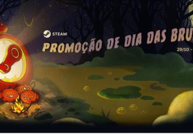 Promoção de dia das bruxas na Steam