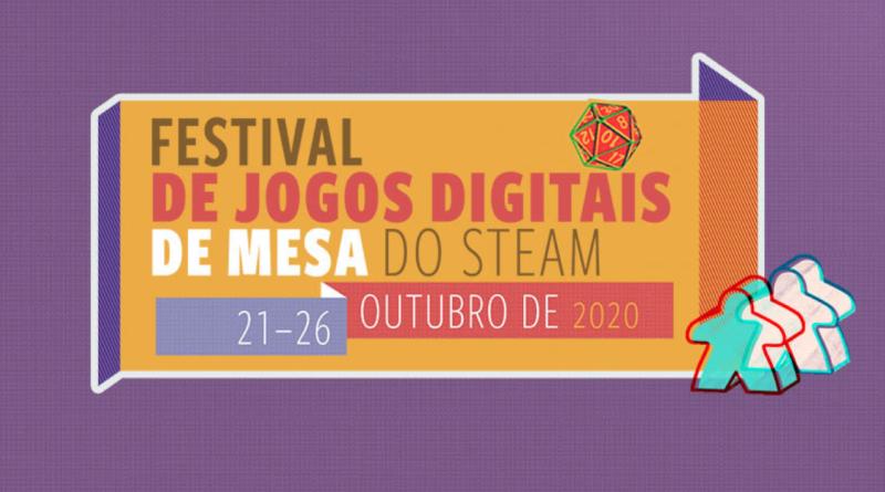 Começou o Festival de Jogos Digitais de Mesa do Steam!